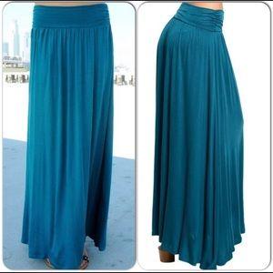 Dresses & Skirts - Teal Maxi Skirt